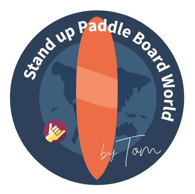 Stand up paddle board world logo