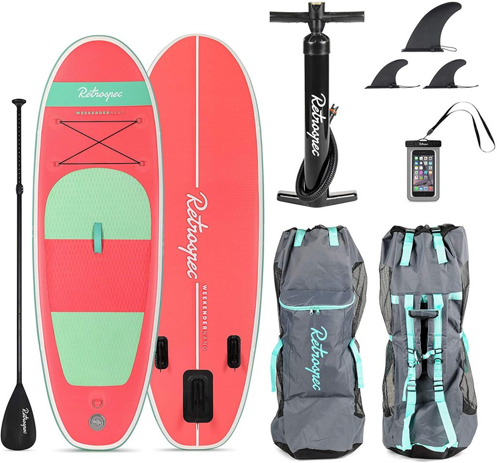 Retrospec Weekender Nano Paddle Board