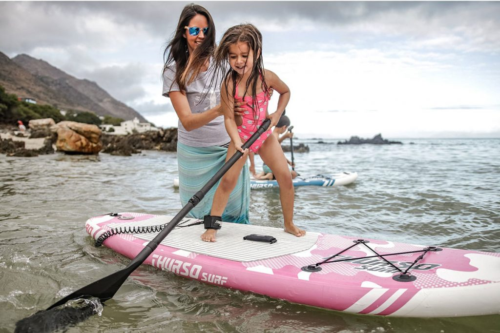 THURSO-SURF-Prodigy-Rosa-infantil-Chicas-niña-Tabla-Paddle-Board