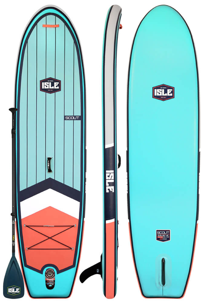 Isle scout mejor tabla hinchable de paddle board surf