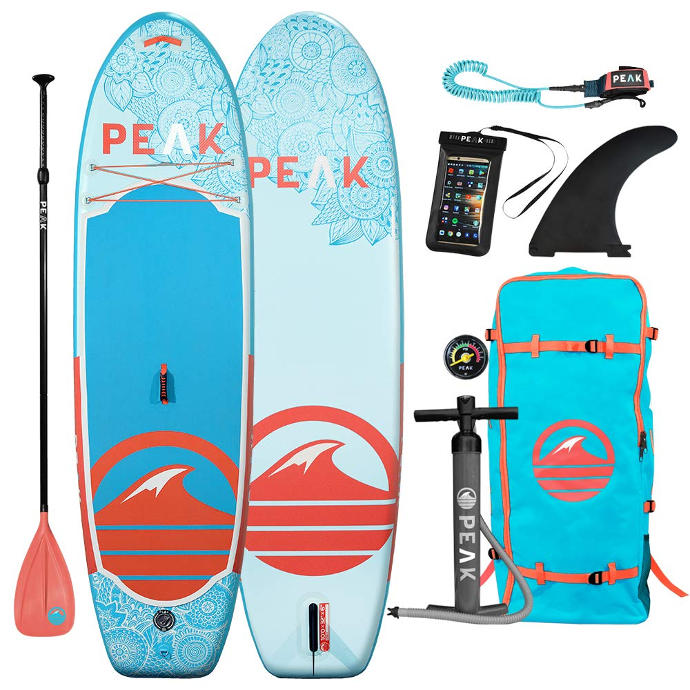 Peak Yoga paddleboard