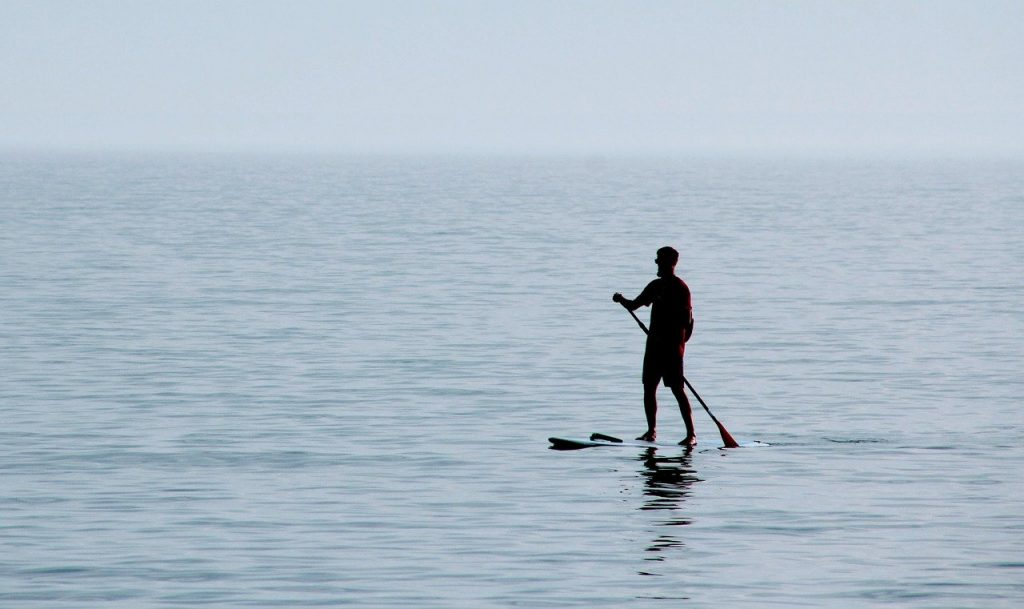 recreational paddle boarding