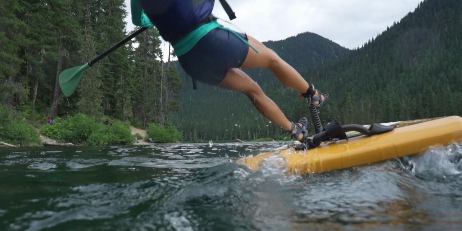 Paddle-board-falling