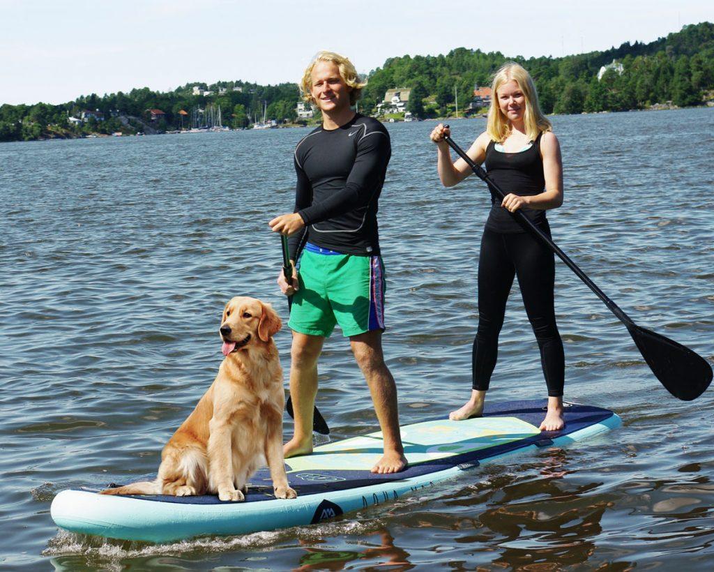Aqua-Marina-Super-Trip 2 person paddle board Paddle Boards für 2 Personen