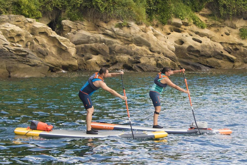 Decathlon paddle board touring