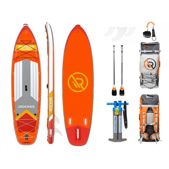 "iRocker cruiser 10'6"" Orange"
