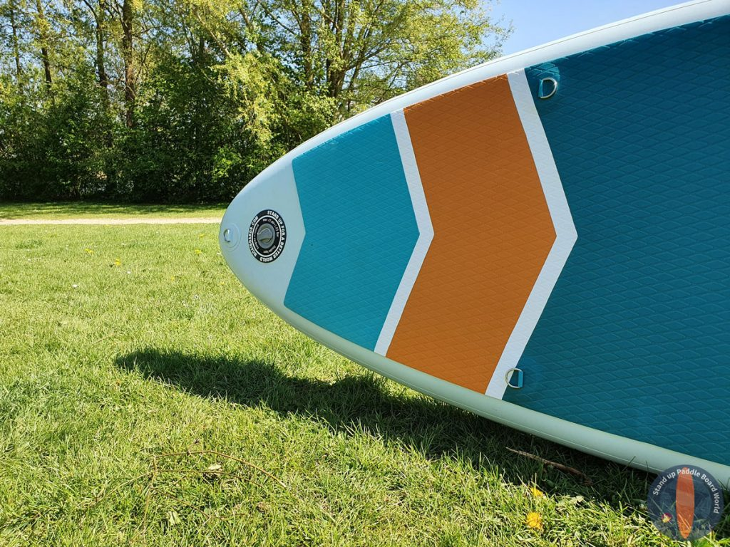 "MOAI 10'6"" Paddle Board Review 5"