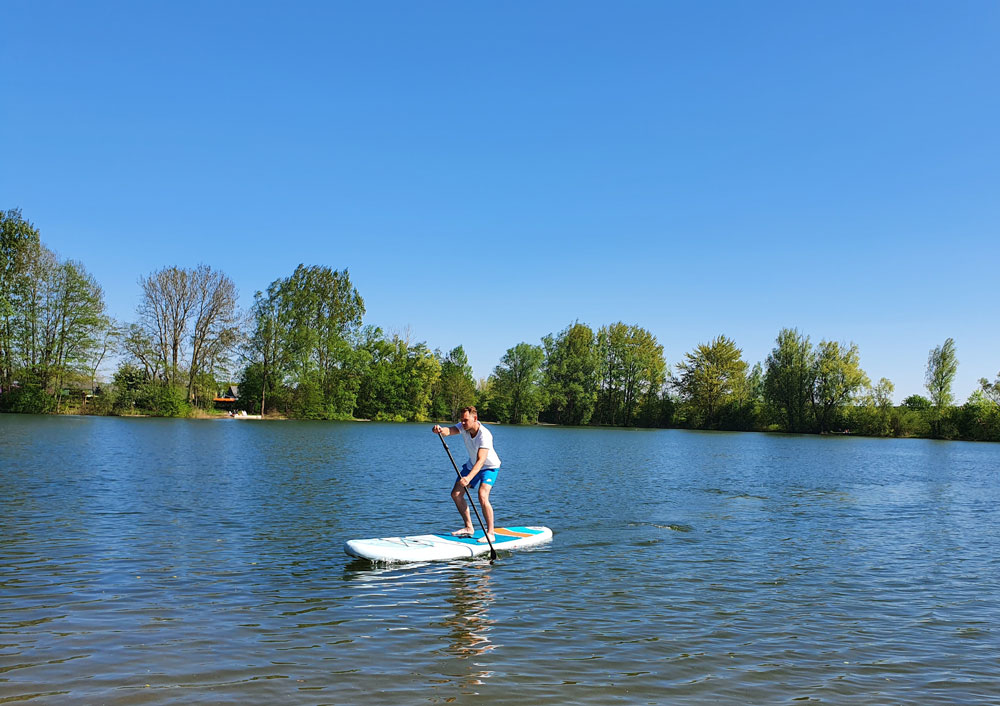 MOAI 11' Stand Up Paddle Board 6