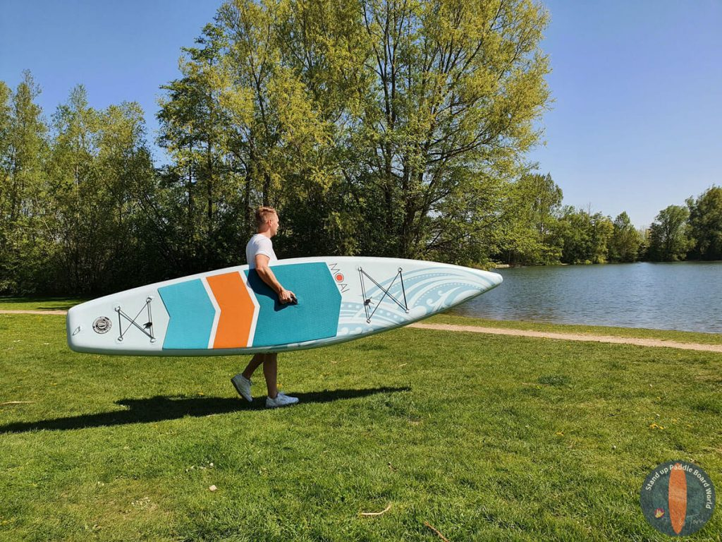 "MOAI 12'6"" Paddle Board Carrying"