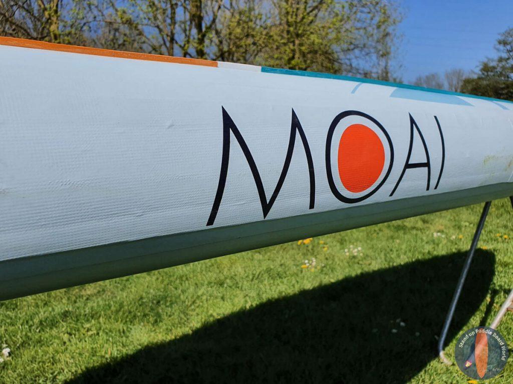 """MOAI 12'6"""" Paddle Board Side"""