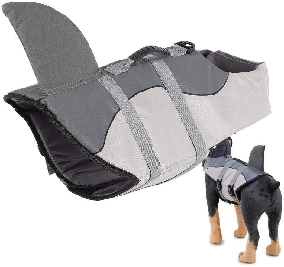 Hondenzwemvest-Haaienvin
