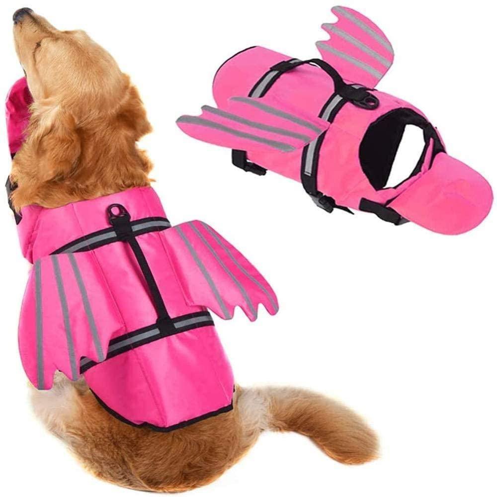 Hondenzwemvest-Roze-Vleugels