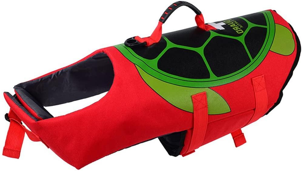 Hondenzwemvest-Schildpad