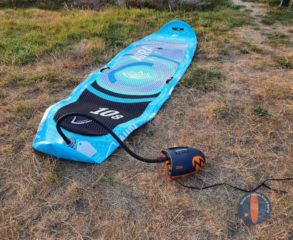 OutdoorMaster-Shark-Aufblasen