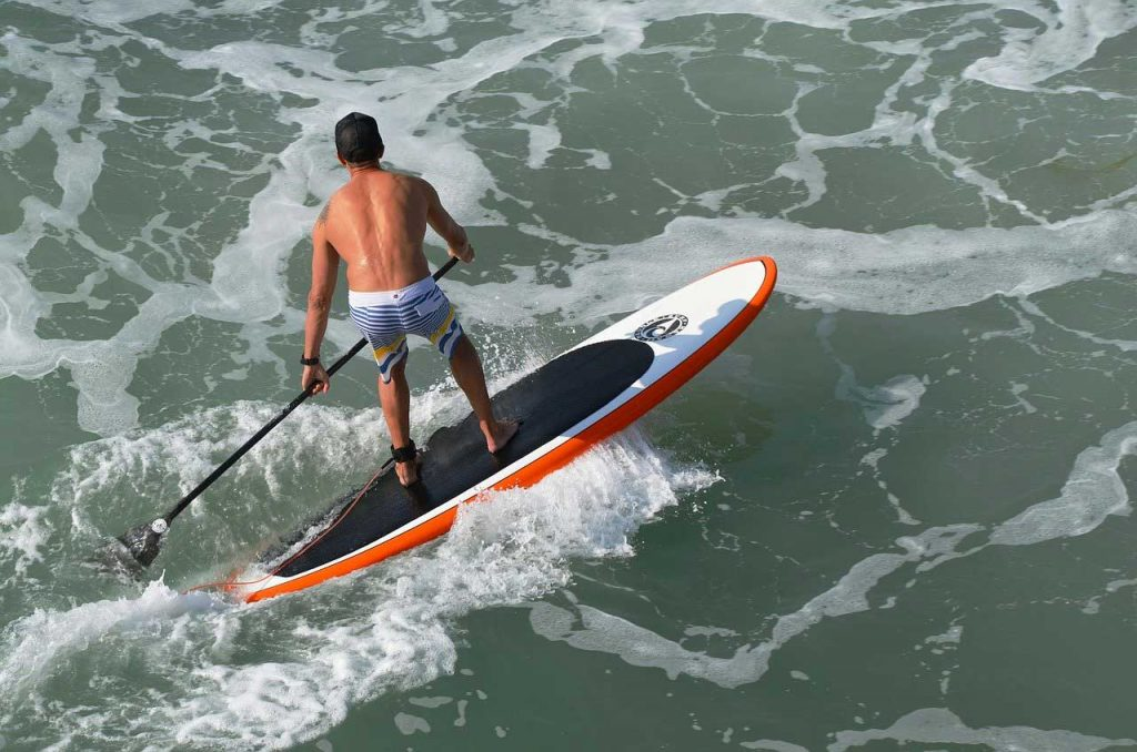 SUP-Surfing-Top-View