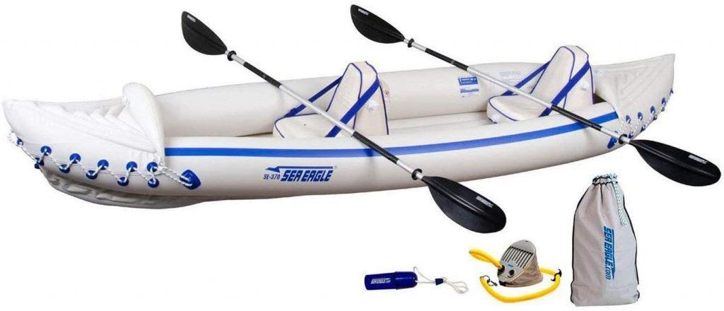Kayak hinchable-Sea-Eagle-370-Pro