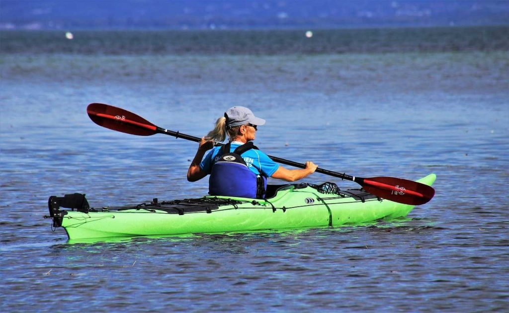 kayaking-woman