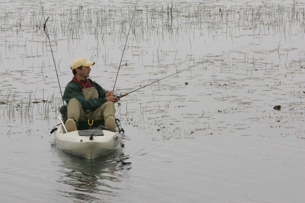 Fishing-Kayak-Fisherman