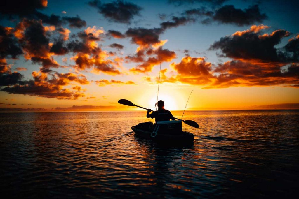 Fishing-Kayak-Sunset