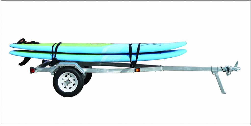 Kayaktrailer-Drager
