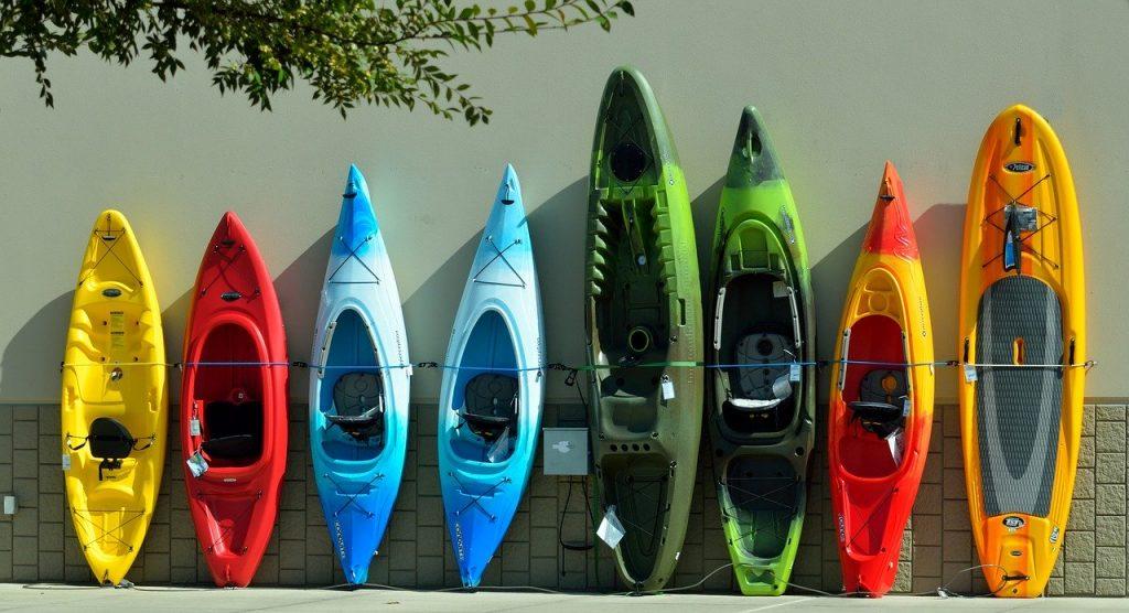 Kleurrijke-kayaks