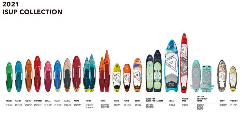 Tablas-de-Paddle-Aqua-Marina-2021-Colección-Total