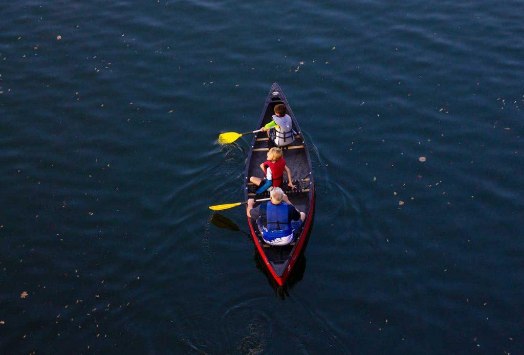Canoe-Rental-Paddling-Children