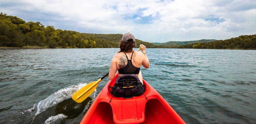 Canoe-Paddling-Girl