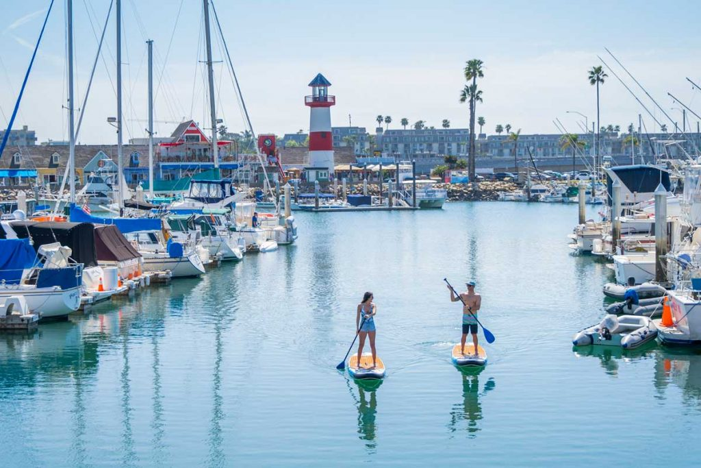 Oceanside-Harbor-Paddle-Boarding