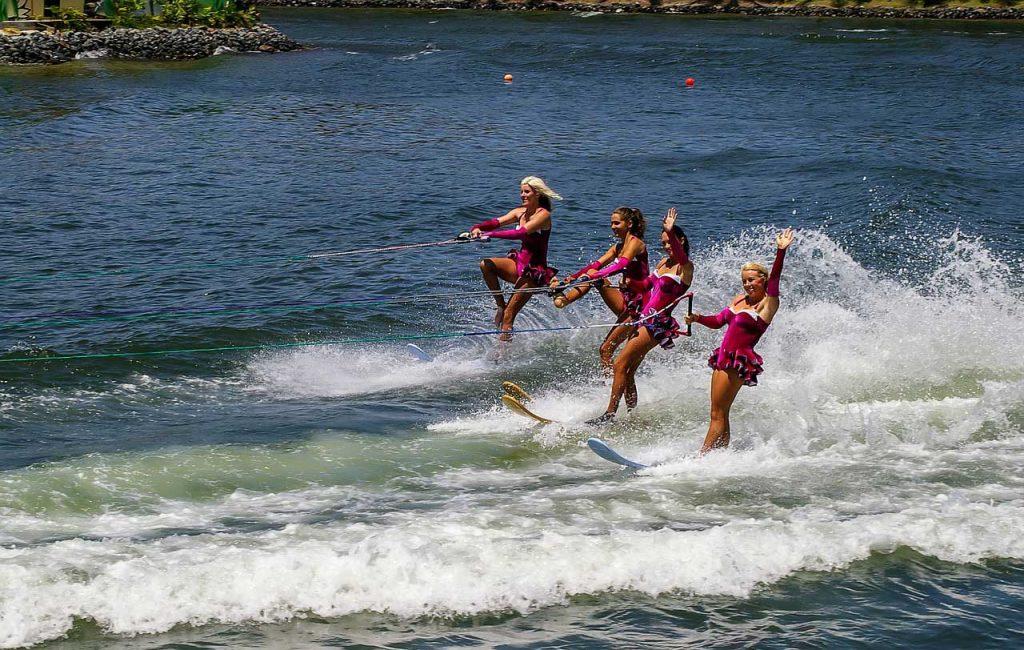 Esquí-acuático-mujeres