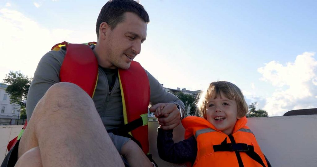 Father-Son-Kids-Life-Jacket