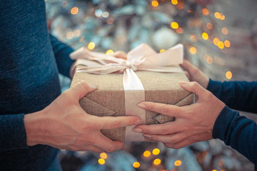 Giving-Christmas-Gift
