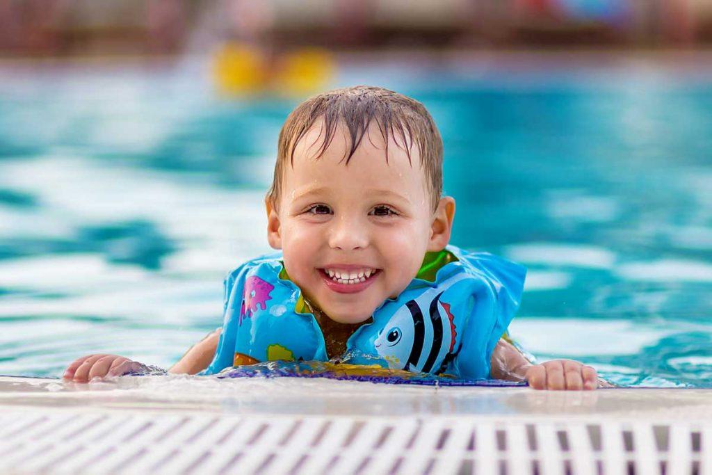 Gilet de sauvetage pour bébé - piscine