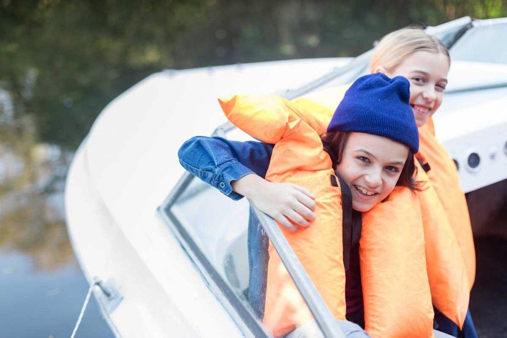 Gilet de sauvetage pour enfants frères et sœurs