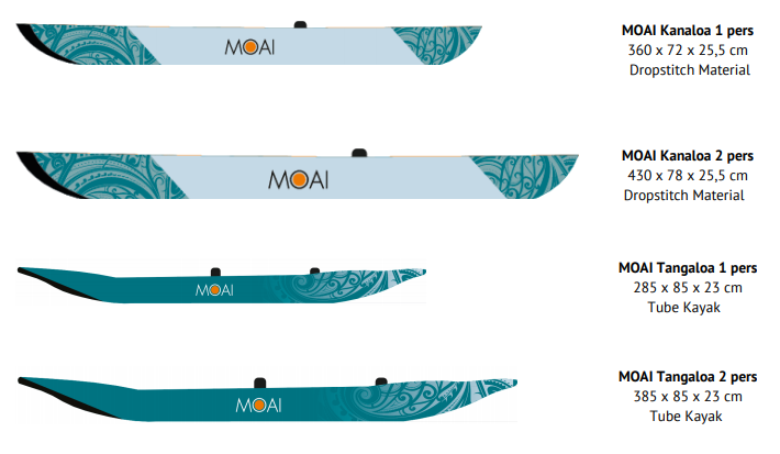 MOAI kayaks and canoes