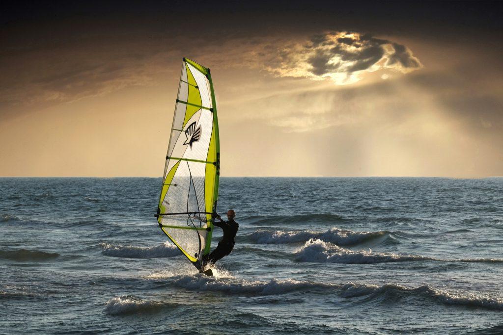 planche à voile océan