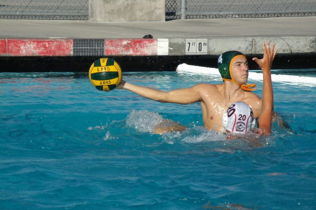 water polo positions center forward