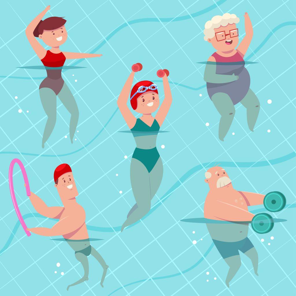 aquagym exercises