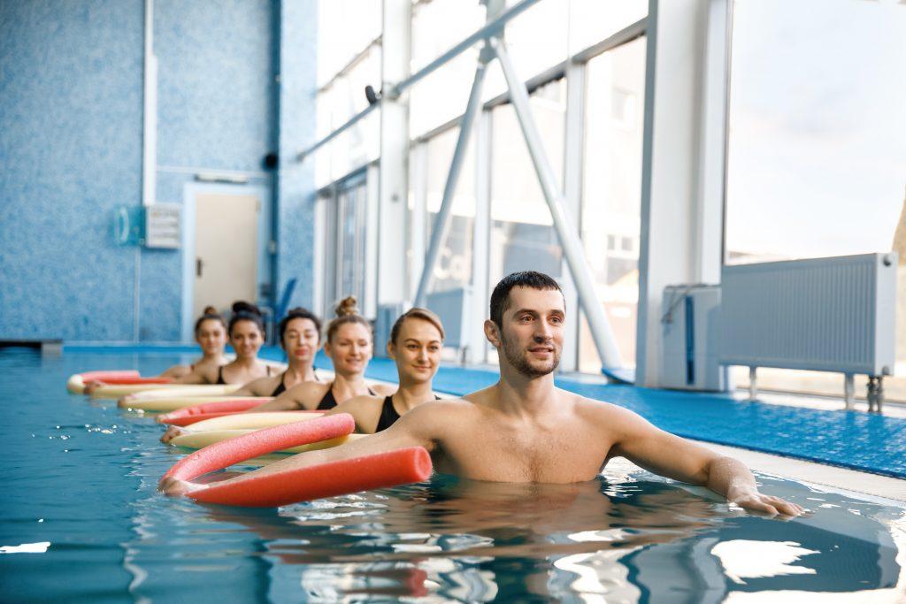aquagym aerobics