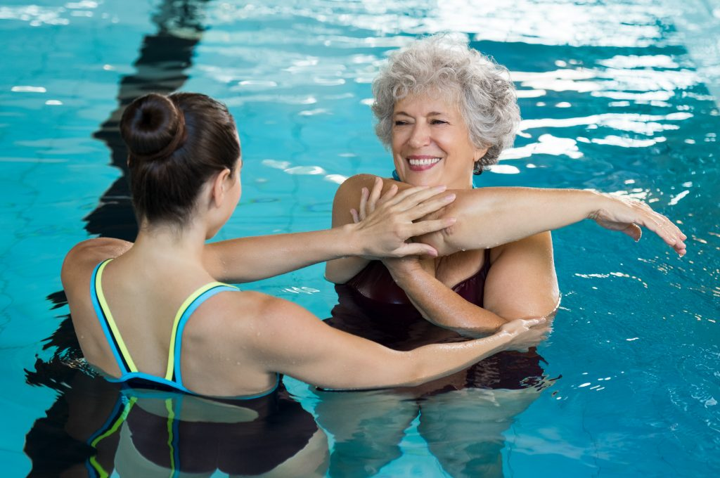 aquagym exercises for old people
