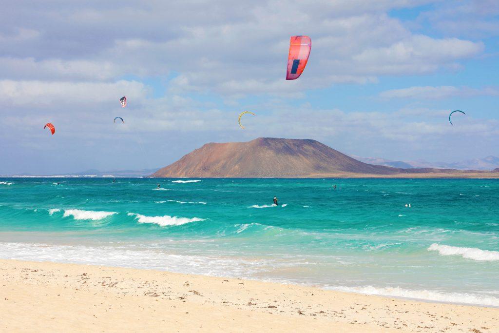 Equipo de kitesurf - Corralejo
