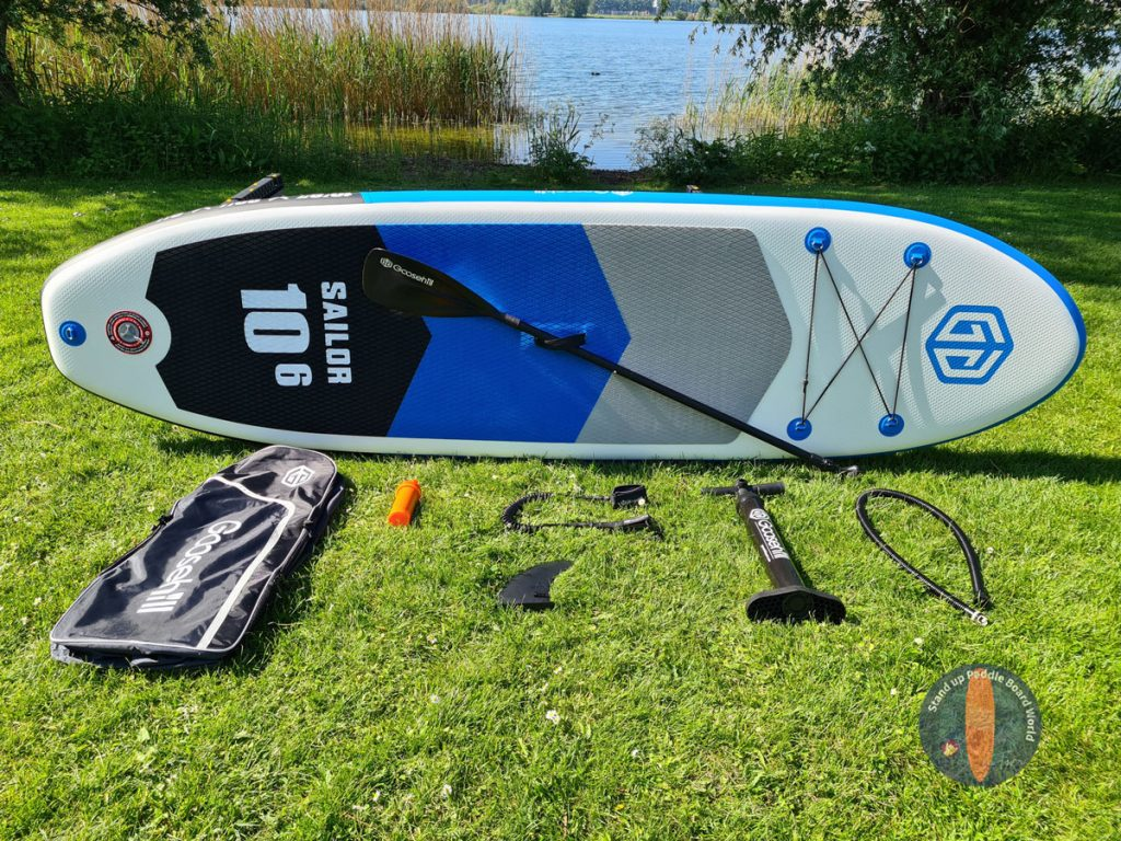 goosehill paddle board - paquete completo