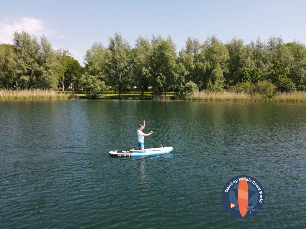 goosehill paddle board - vista lateral de Tom