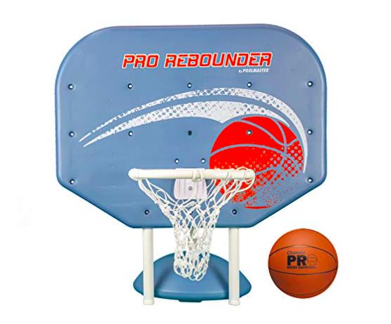 pool basketball hoops