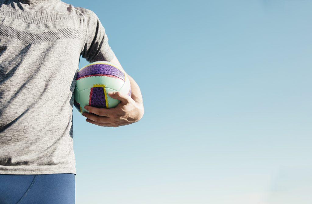 Movimientos en futvoley, balón o pelota