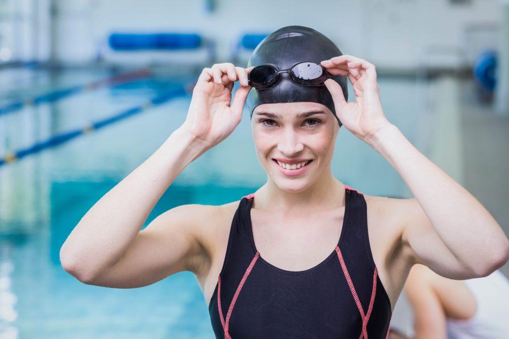 lunettes de piscine