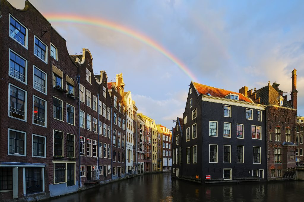 Paddle boarding locations in Amsterdam